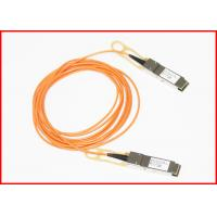 Buy cheap 2km 10G SFP + AOC Active Optical Cable Compatible 40G Cables LC Connector from wholesalers