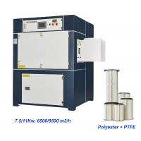 Buy cheap 11KW Disposal Polyester Filter Welding Fume Extractor product