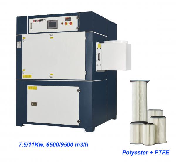 Buy cheap 11KW Disposal Polyester Filter Welding Fume Extractor from wholesalers