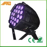 Buy cheap New Par Can Light 18pcs 15w Rgbwa Uv 6in1 Led Par Disco Stage Light / Dmx Par Light from wholesalers