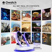 Buy cheap Owatch-2018 Hot selling Shooting  Cinema Virtual Reality 9D VR Chair-3rd Cinema 360 degree from wholesalers