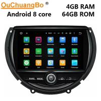 China Ouchuangbo car radio gps navigation android 9.0 for Mini cooper (2014--) With 1080 video System on sale