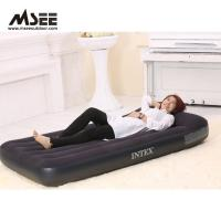 Buy cheap White / Black Color Elevated Inflatable Bed High Comfort 50 * 40 * 28CM Packing from wholesalers