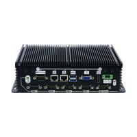 Buy cheap 4G DDR3 Memory Industrial Mini PC Integrated Intel HD Graphics Support RS232 product