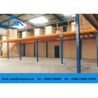 China Metal Frame Structural Mezzanine Floors Platform For Industrial Warehouse on sale