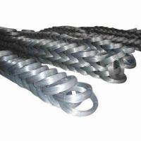 Buy cheap Galvanized Wire with Q195/Q235 Steel Grade/BWG8 to 22 Wire Gauge/Surface Bright/Binding Function from wholesalers