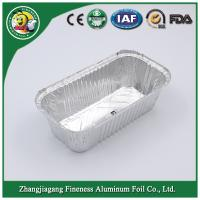 China Oven Safe Disposable Food Package Aluminum Foil baking Container on sale