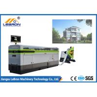 Buy cheap White Color Light Gauge Steel Framing Machines , Prefabricated House Metal Framing Machine from wholesalers