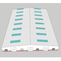 Buy cheap Wind Proof Light Steel Structure Hangar Hot Rolled  For Factory Earthquake Resistant product