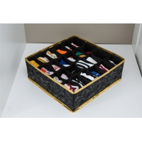Buy cheap Black Foldable Drawer Organizer , 24 Cells Collapsible Drawer Dividers from wholesalers