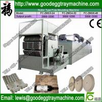 Buy cheap recycling waste paper egg tray machine price from wholesalers