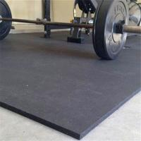 Buy cheap Anti-slip recycled sound insulation cost-effective rubber floor roll rubber mat for gym from wholesalers