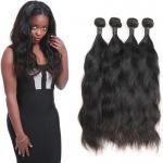 Buy cheap Long Raw Natural Wave Virgin Hair / Natural Curl Hair Extensions 100 Human Hair from wholesalers