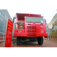 Buy cheap Red Color Sinotruk Howo Dump Truck 6*4 / 30 Tons Tipper Truck mining dumper from wholesalers