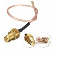 Buy cheap DC To 6GHz Coaxial Cable Connectors , RG316 Waterproof Sma Connector from wholesalers