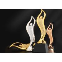 Buy cheap Epoxy Resin Trophies And Awards Gold / Silver / Copper Plated Type Optional from wholesalers
