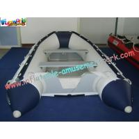 Buy cheap Custom 0.9MM(32OZ) PVC tarpaulin Inflatable Boat / Inflatable Kayak for water game from wholesalers