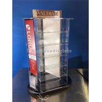 Buy cheap Tabletop Rotating Acrylic Display Case , 3-Way Pocket Watch Display Case from wholesalers