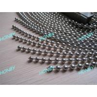 Buy cheap Metal Ball Chain Curtain from wholesalers