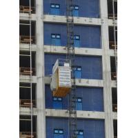 Buy cheap Low Wear Construction Hoist Elevator Payload Capacity 2000Kg With LED Ceiling Lamp from wholesalers