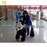 Hansel Motorized Plush Riding Animals Stuffed Zippy Rides Walking Animal Rides Manufactures