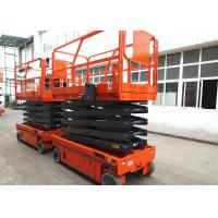 Wholesale Motion Alarm Self Propelled Electric Scissor Lift Self Propelled Single Man Lift from china suppliers