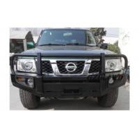 Buy cheap Off Road 4x4 Replacement Rear Bumper Black For Nissan Patrol GU Y61 Bull Bar from wholesalers