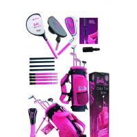 Buy cheap Barbie 2011style children golf club set middle size and big size from wholesalers