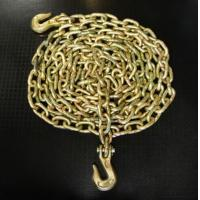 Buy cheap 3/8'' grade 43 high test binder chain w/clevis grab hook from wholesalers