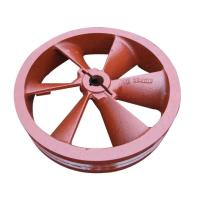 Buy cheap Painting Large Grey Cast Iron Casting Belt Pulley For Agricultural Machinery from wholesalers