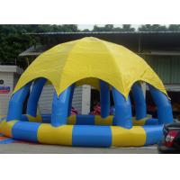 Buy cheap Portable 8m Dia Inflatable Water Pool With Cover Above Ground Blow Up Pools from wholesalers