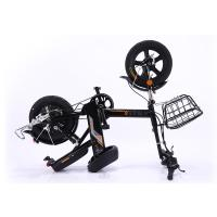 China 14 Inch 350w 48V Folding Tire Portable Electric Bike With Pedal And CE Certification on sale