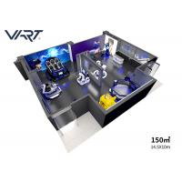 Buy cheap Earn Money Machine 10-200m2 Virtual Reality World 9D VR Theme Park with Arcade Games from wholesalers