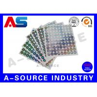 Buy cheap Secure  Printed Self Adhesive Stickers Labels Vinyl Printing With Serial Number from wholesalers