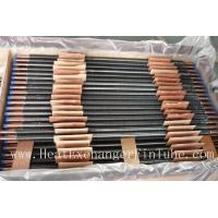 Buy cheap C12200 / TP2 Copper Finned Tube , Tension Wrapped L Type Condenser Tube from wholesalers