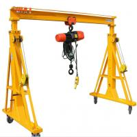 Buy cheap Small Portable Gantry Crane 3000kg Span 3m With 3 Meters Lifting Height from wholesalers