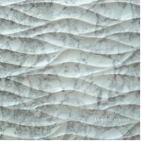 Wholesale Natural White Carrara 3D Decor Feature Stone Wall Art Tile from china suppliers