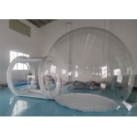 Buy cheap Waterproof Advertising Dome 4m Inflatable Bubble Tent from wholesalers