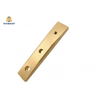 Buy cheap OEM PTFE Lubricating Slide Plate With Groove from wholesalers