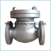 swing flange check valve price Manufactures