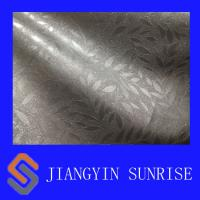 Buy cheap Environmental Plain Weave PVC Artificial Leather , Synthetic Leather For Upholstery from wholesalers