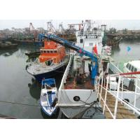 Buy cheap High Durability Hydraulic Deck Crane 1T 8M Manual / Radio Remote Control Operation from wholesalers