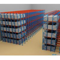 Buy cheap SPCC Material Drive In Pallet Rack With Powder Coating Surface Treatment from wholesalers