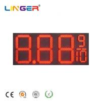 Buy cheap 16 Inch Led Digital Natural Gas Price Sign Pylon Billboard for Outside from wholesalers
