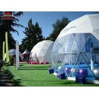 Buy cheap Waterproof And Flame Retardant Geodesic Dome Tent For Camping , Auto Show from wholesalers