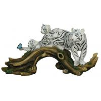 Buy cheap Polyresin Three Tiger statue from wholesalers