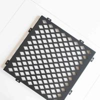 Buy cheap Diamond Hole Stainless Steel Perforated Plate Good Sound Absorption Effect from wholesalers