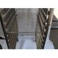 Buy cheap Customized Bread Stainless Steel Rack Trolley For Fast Food Kitchen Equipment from wholesalers