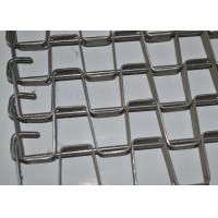 Buy cheap 304 Stainless Steel Honeycomb Wire Mesh Conveyor Belt For Food Cooling And Freezing from wholesalers