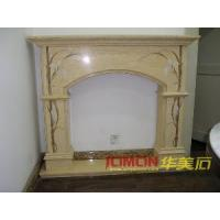 Buy cheap Marble Fireplace, Marble Mantel, Fireplace Mantel (XMJ-FL09) from wholesalers